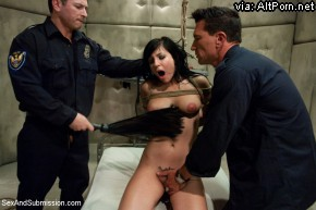Sex And Submission: Tori Lux Used And Abused By Dirty Cops