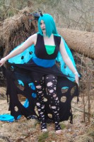 PixelVixens Woodland My Little Pony Changeling Cosplay with Glitch