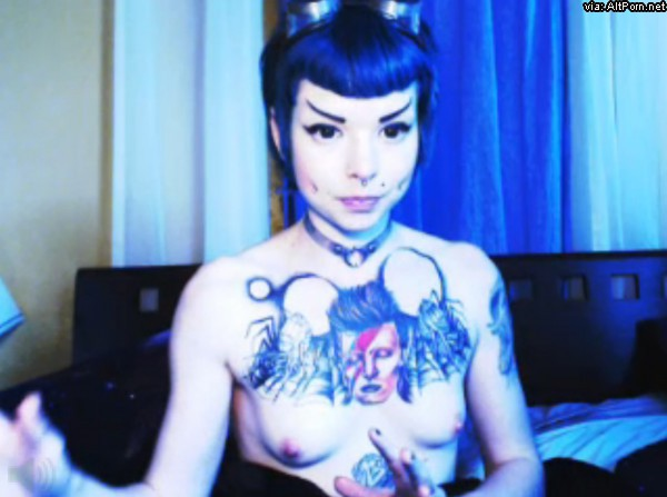 Part Time with Sexy Alien Babe MissSpock