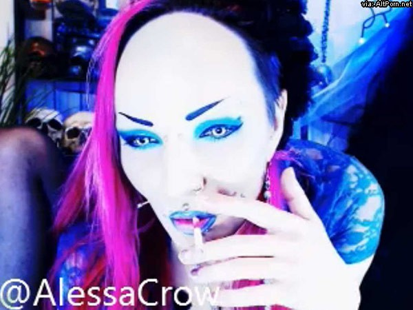 Alessa 666 Gothic Smoking Hot Good Music