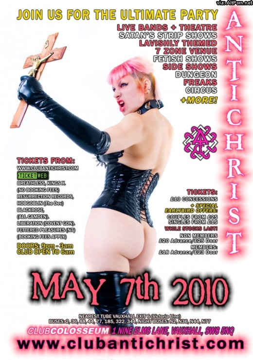 Club Antichrist: Religious Debauchery Party