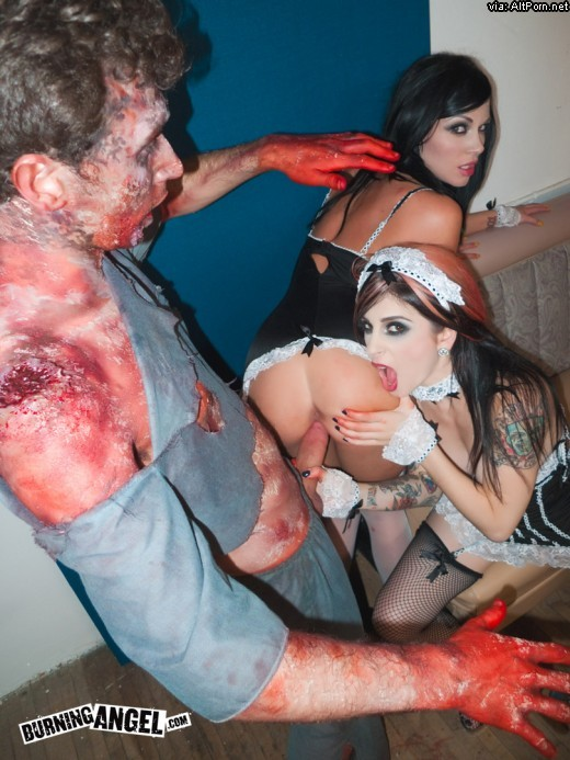 naked girls fucked by zombies