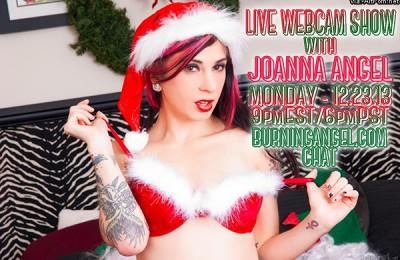 BurningAngel Joanna Angel Holiday Chat