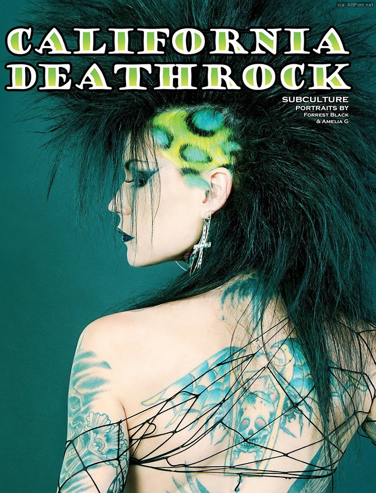 California Deathrock Art Book