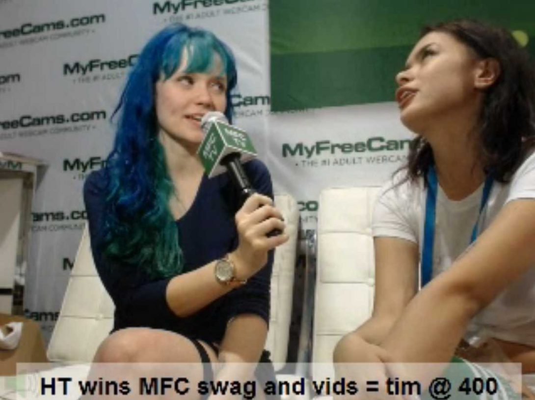 MFC TV and HeidiV at SEXPO Sydney
