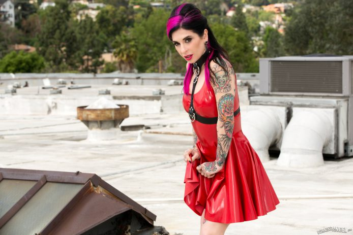 Burning Angel: Rooftop Latex Show