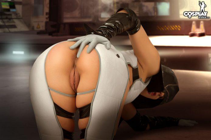 Mass Effect Порно Косплей