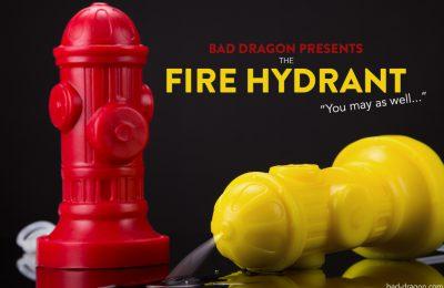 Bad Dragon Fire Hydrant