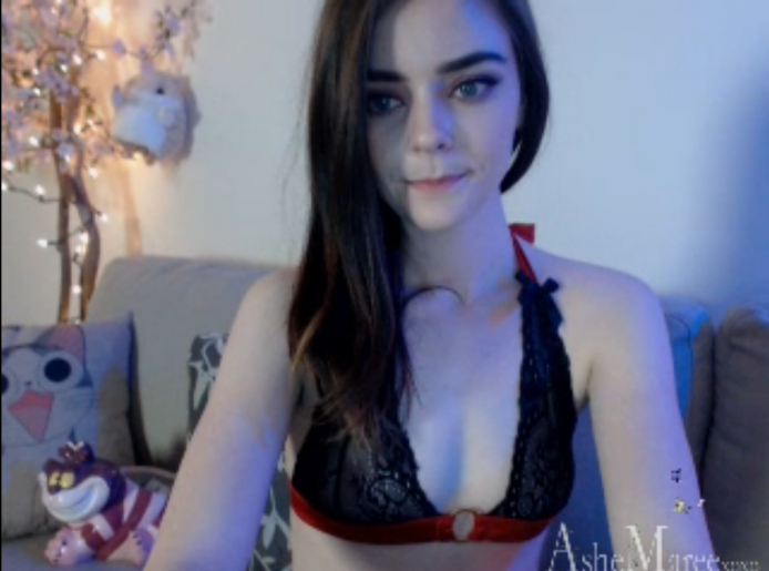 Ashe_Maree Is In A Great Mood Tonight