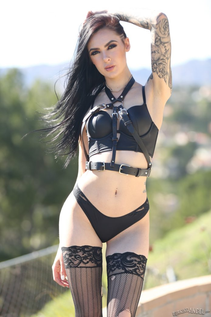 BurningAngel: Marley Brinx Gets To See Small Hands' Record Collection Among Other Things