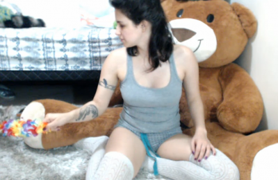 GweenBlack Spanks Her Plump Booty