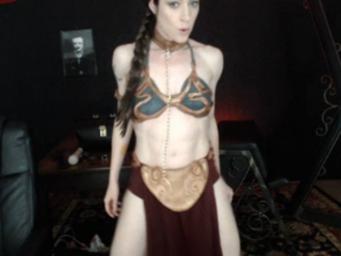 TheLadyAdore Is A Sexy Slave Leia Tonight