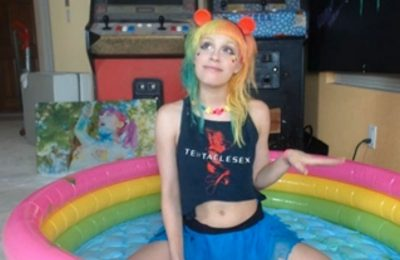 Colorful Candy Raver ULTRAHAPPY Wants To Make You Happy Too