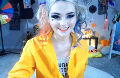 Catjira Wants You To Rev Up Her Harley This Halloween