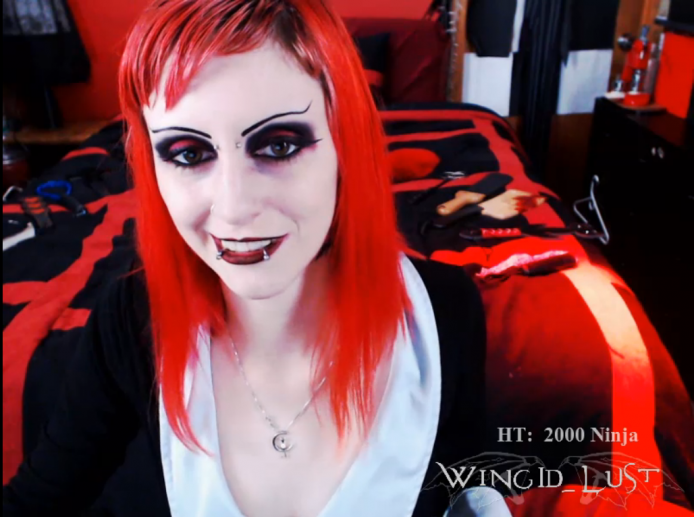 WingID_Lust Spanks Her Sexy Pale Ass With A Kitten Paddle