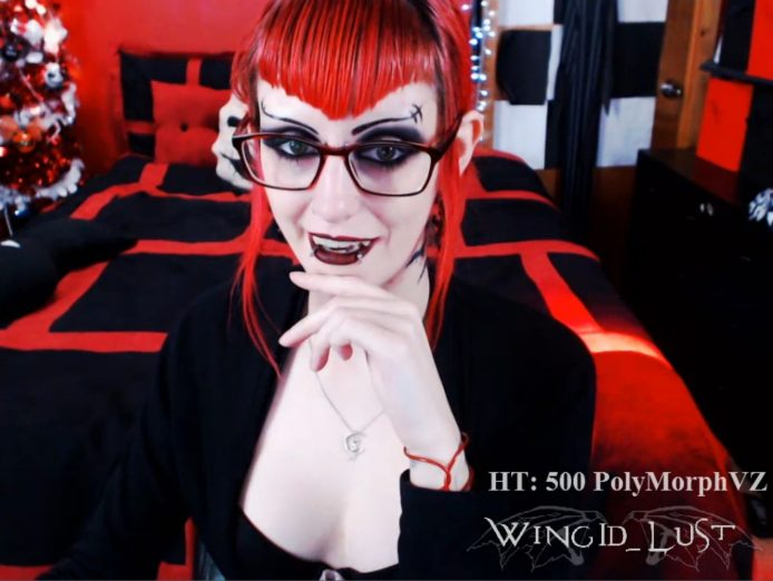 WingID_Lust Looks Dangerously Sexy In Glasses