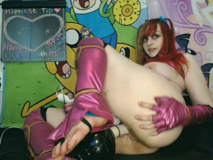 BabyZelda Loves Cosplay And Fucking Machines