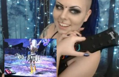 MorticiaMorg Is The Worlds Sexiest Guitar Hero