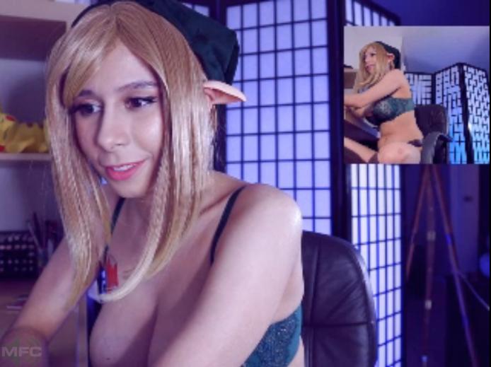 Senrii Has A Legend Of Zelda Paint Night