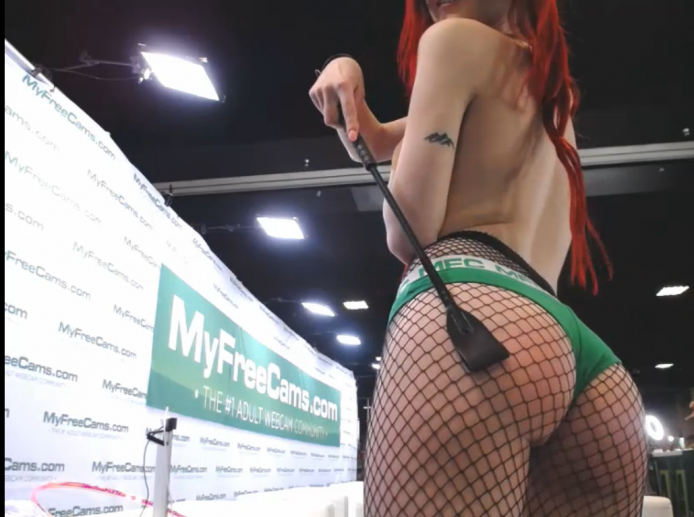 BabeAriel Proves MFC Panties Make Your Ass Look The Best