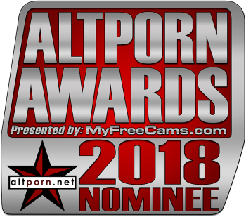 AltPorn Awards 2018 Nominee