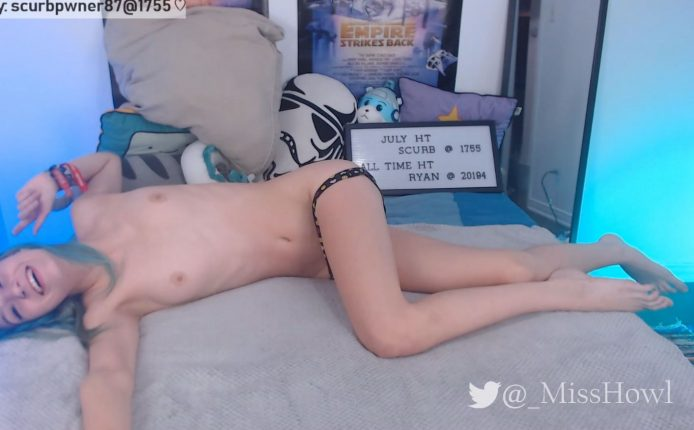 MissHowl Sticks That Booty In The Air