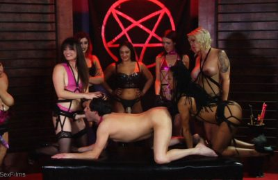 TheUpperFloor: Orgy, Leather and Sulphur