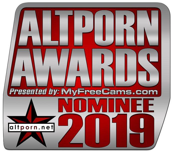 AltPorn Awards 2019 Nominee