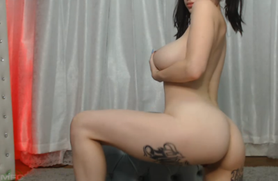 Cubbixoxo Brings The Cheer And Pig-Tailed Kink