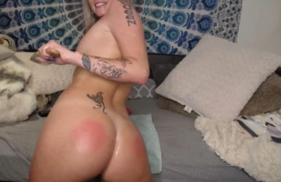 Ashxdiamond Gets Oiled Up And Paddles