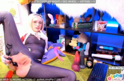 PieAllTheTime Gets Anal As Spider-Gwen