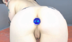 Enjoy Some Bejeweled Butt Stuff Beauty With NecroNicki