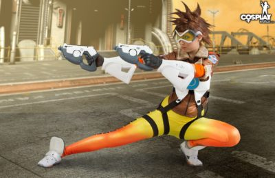 CosplayErotica: Stacy Is One Hot Tracer