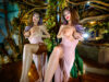CrazyBabe: Botanical Babe Emily Addison Has Fun In Her Treehouse